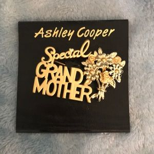 Special grandmother pin